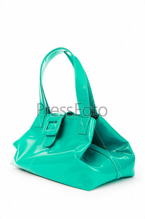 Фотография на тему Элегантная женская сумка на белом