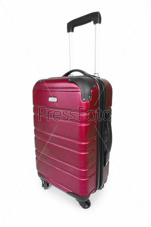 Багаж на белом фоне
