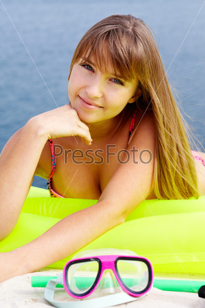 Фотография на тему Девушка на пляже