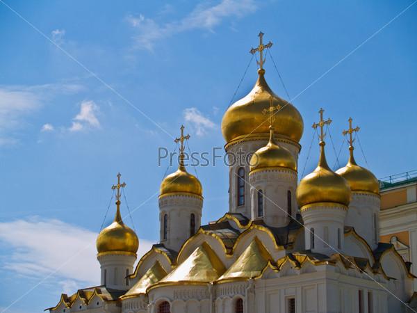 Фотография на тему Благовещенский собор в Кремле, Москва, Россия