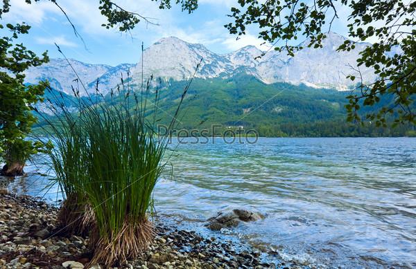 Альпийское озеро в Австрии