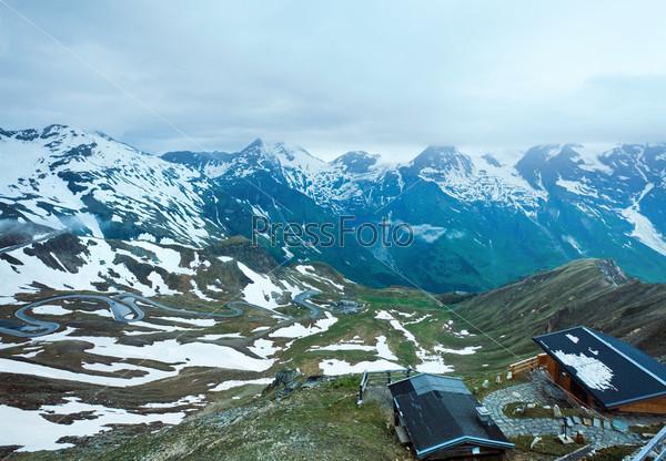 Фотография на тему Гора Гросглокнер в Альпах