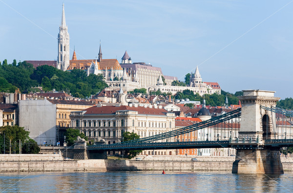 Мост Сечени, Будапештский цепной мост, Венгрия