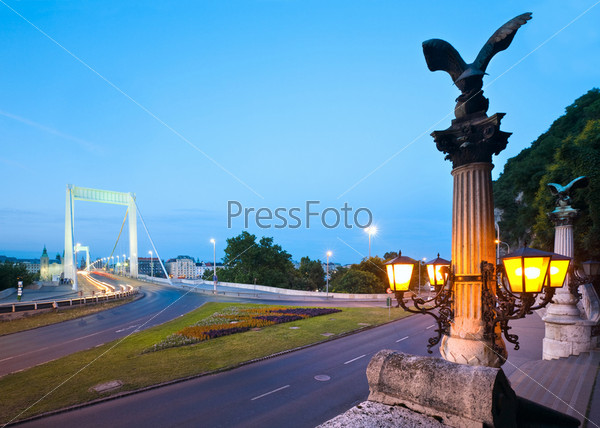 Вечерний Будапешт, Мост Елизаветы