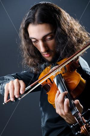Молодой скрипач