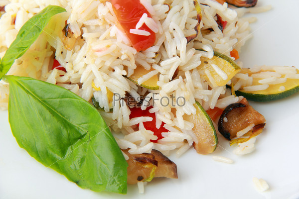 Фотография на тему Рис с овощами