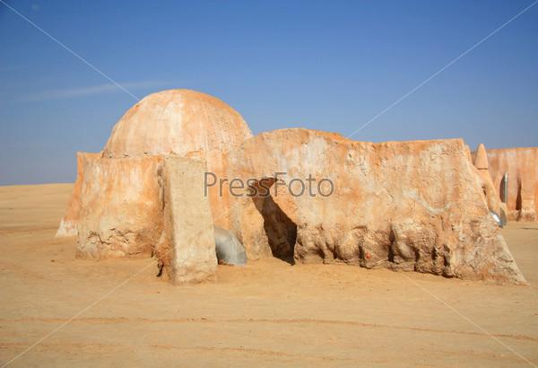 """Декорации к фильму """"Звездные войны"""", Тунис"""
