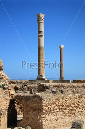 Фотография на тему Руины Карфагена, Тунис