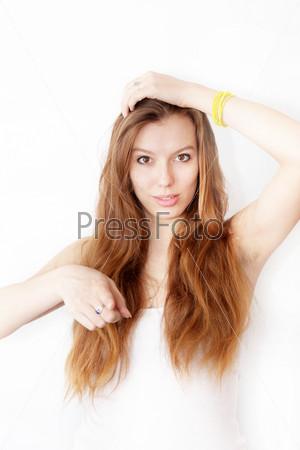 Фотография на тему Портрет рыжеволосой девушки