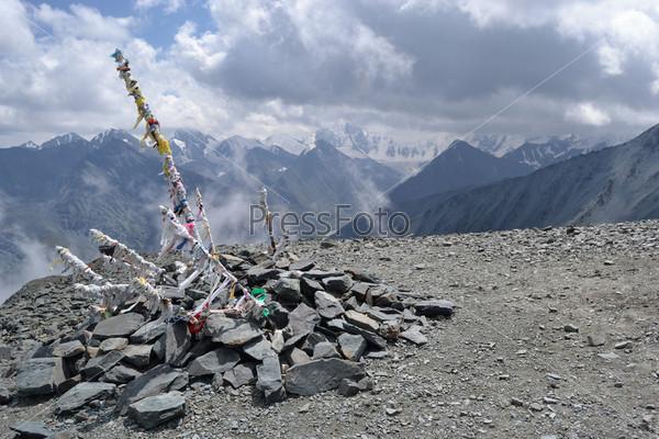 Перевал Кара-Тюрек, горный Алтай