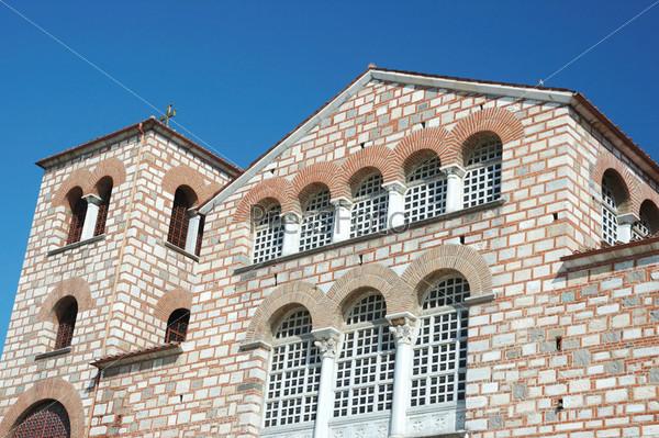 Византийская православная церковь Святого Димитрия (Айос Деметриос) в Салониках, Греция