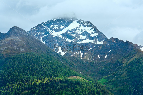 Фотография на тему Красивый горный пейзаж