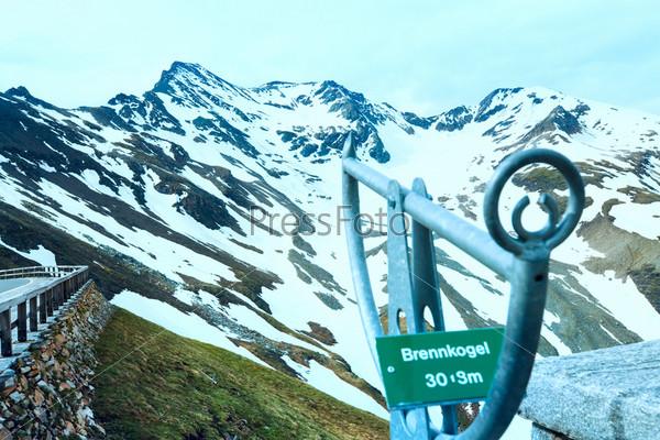 Вершина горы Гросглокнер