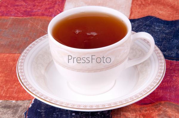 Фотография на тему Чашка чая и блюдце