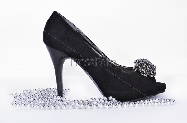 Фотография на тему Женские черные туфли