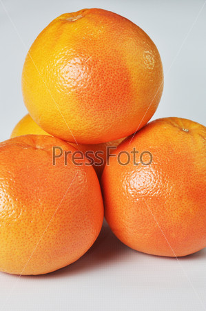Грейпфруты крупным планом