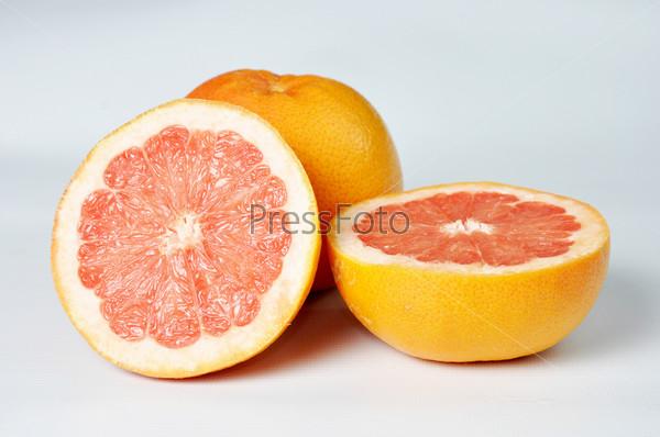 Фотография на тему Грейпфруты крупным планом
