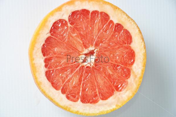 Грейпфрут крупным планом