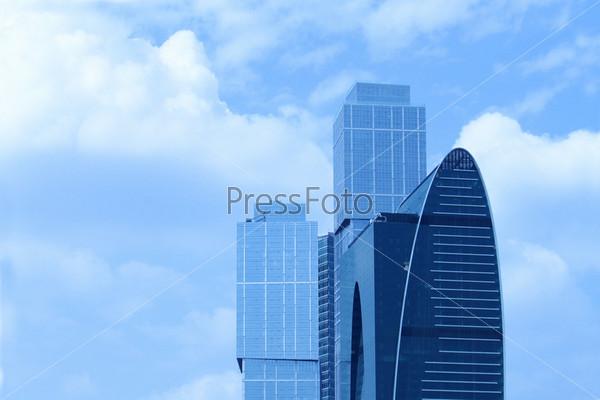 Фотография на тему Москва-Сити, Международный Бизнес-центр в Москве