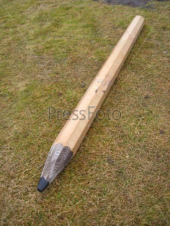 Огромный карандаш