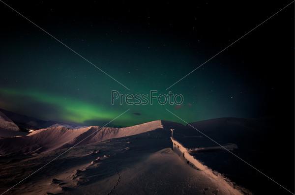 Фотография на тему Северное сияние