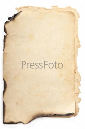 Фотография на тему Лист старой бумаги