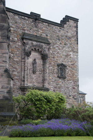 Эдинбургский замок в Шотландии, Англия