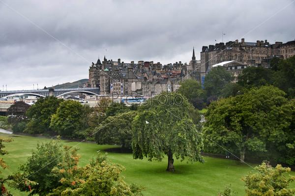 Старый город Эдинбурга, Шотландия