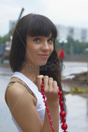Фотография на тему Портрет девушки на открытом воздухе