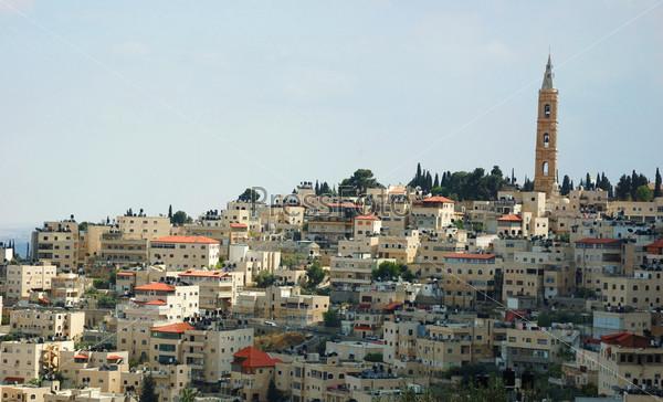 Вид священного города Иерусалима, Израиль