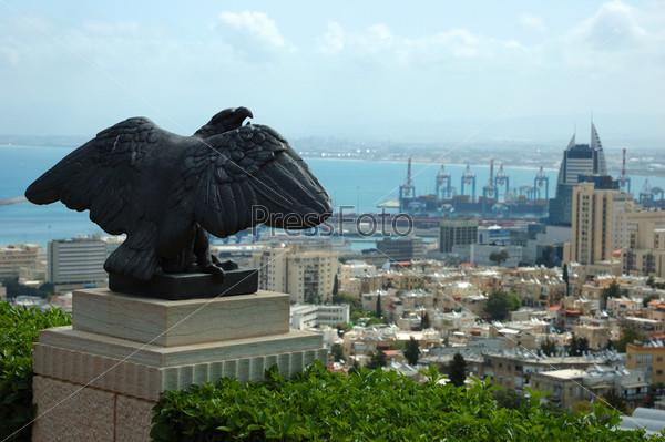 Фотография на тему Вид на город Хайфу