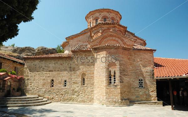 Главный собор Преображенского мужского православного монастыря (кафоликон) Преображения Господня (Великий Метеор), Греция