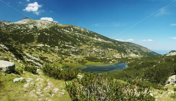 Фотография на тему Горный массив национального парка Пирин в Болгарии