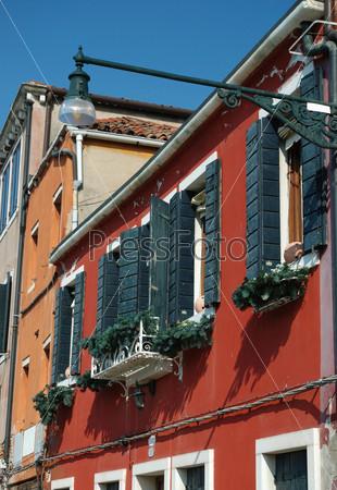 Фотография на тему Венецианские окна. Старая Венеция, Италия
