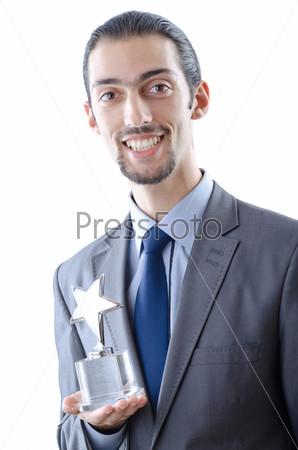 Фотография на тему Бизнесмен награжден орденом звезды