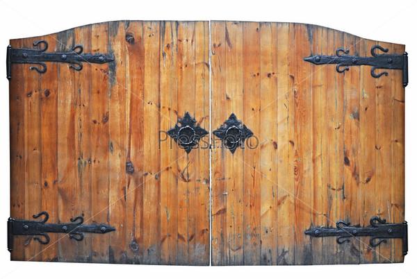 Деревянные ворота картинки для детей