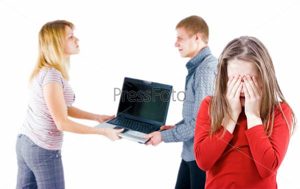 Фотография на тему Ссора в семье