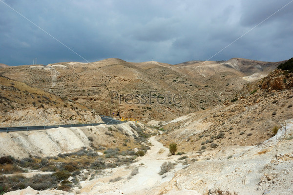Фотография на тему Панорама пустыни Арава, Израиль