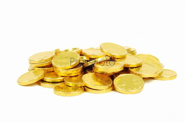 Золотые монеты достоинством 1 евро