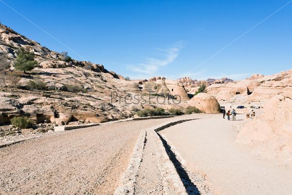 Фотография на тему Путь в город Петра, Иордания