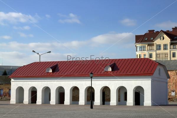 Денежная кладовая Омской крепости, XVIII век