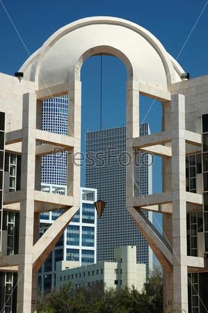 Фотография на тему Современное здание в Тель-Авиве, Израиль