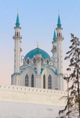 Мечеть Кул Шариф в Казанском Кремле, Татарстан, Россия