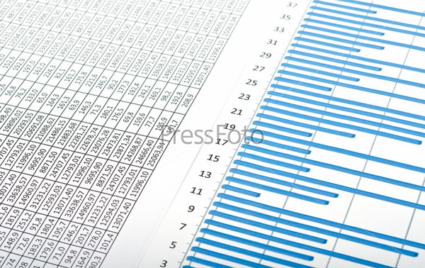 Диаграммы, графики и цифры