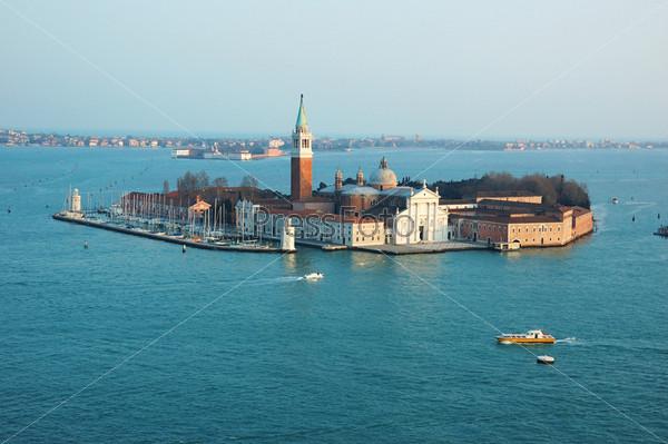 Вид на остров Сан Джорджо Маджоре, Венеция, Италия
