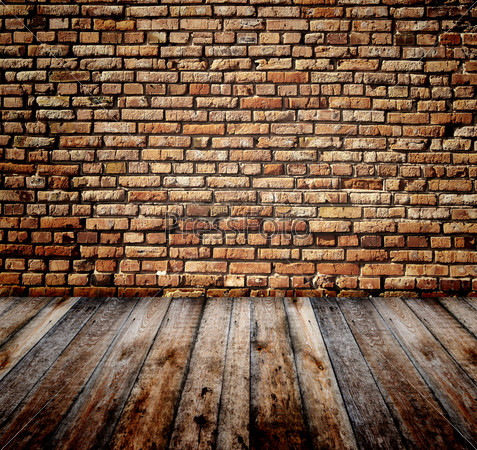 кирпичная стена старая фото