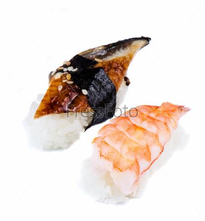 Two nigiri  sushi