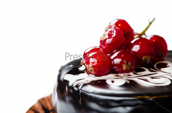 Red currant cake