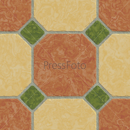 Floor tile background gry