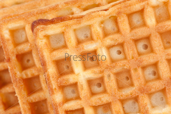 waffle texture